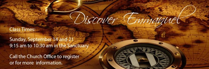 Discover Emmanuel Class